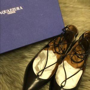Aquazzura Shoes - Aquazzura Christy Flats 🖤